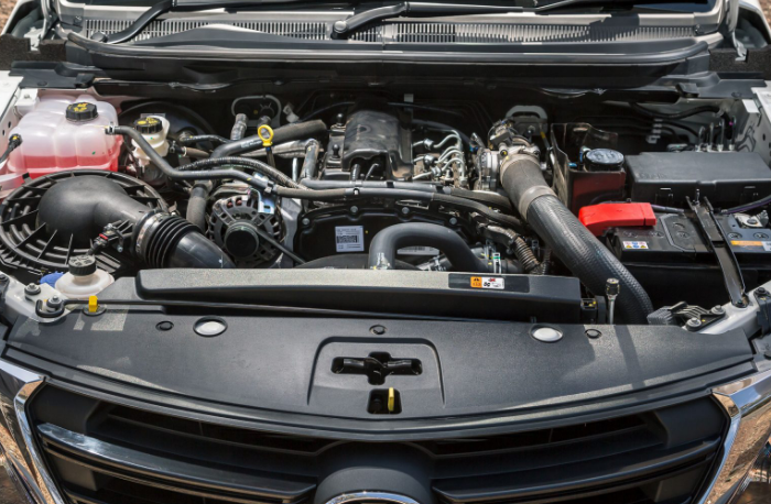 2019 Mazda BT-50 GT Engine