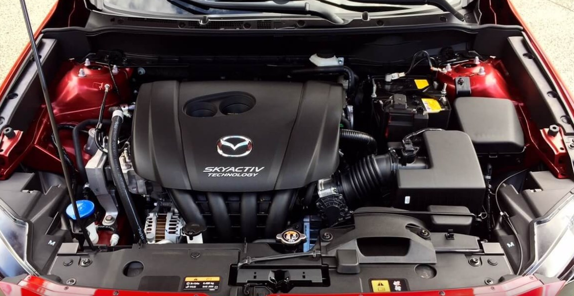 2021 MAZDA CX-3 Engine