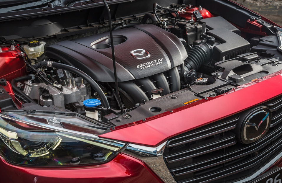 2020 Mazda CX-3 Touring Engine