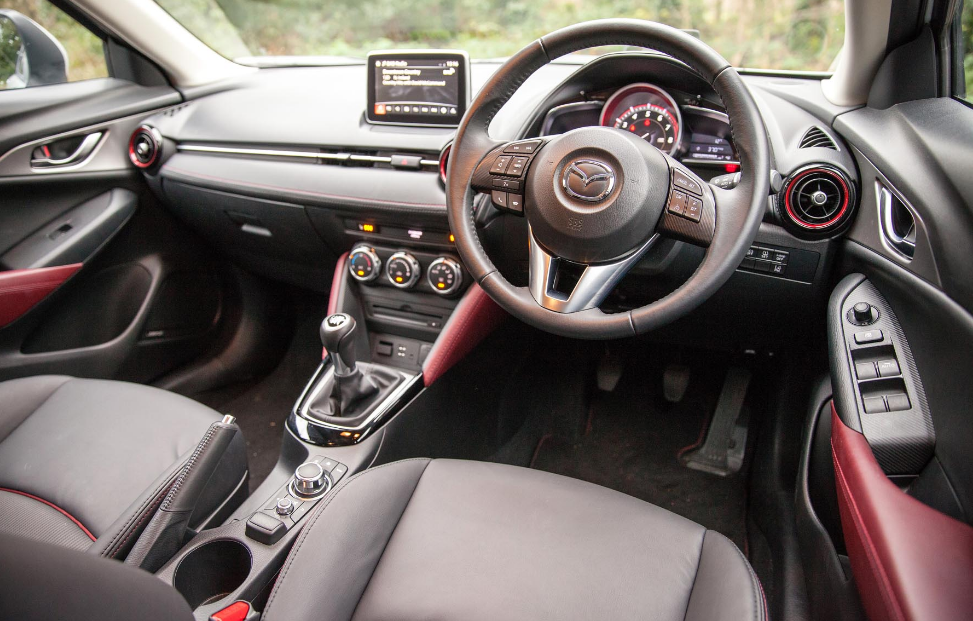 2020 Mazda CX-3 Touring Interior