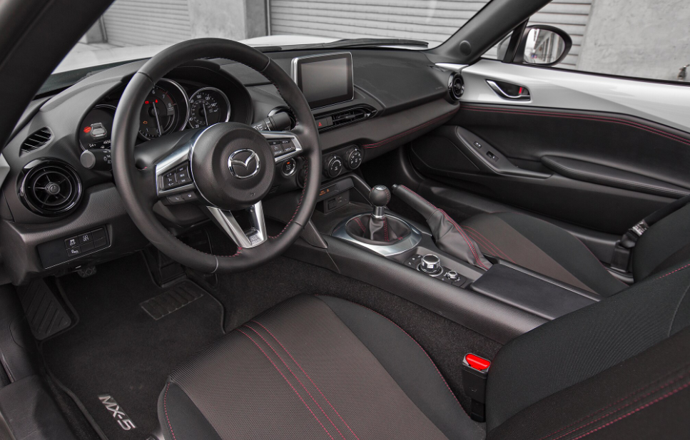 2021 Mazda MX-5 Miata Club Interior