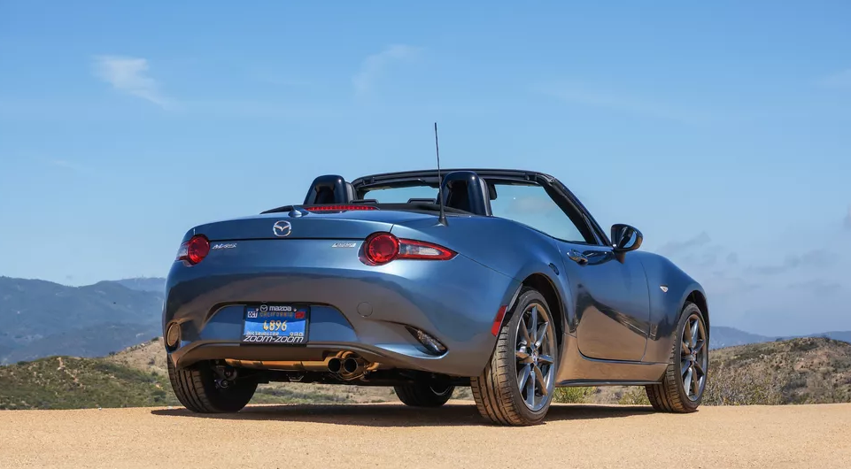 2021 Mazda MX-5 Miata Grand Touring Exterior