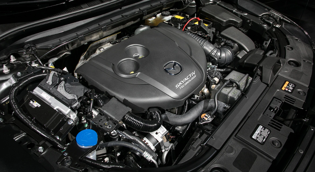 2020 Mazda 6 Signature AWD Engine