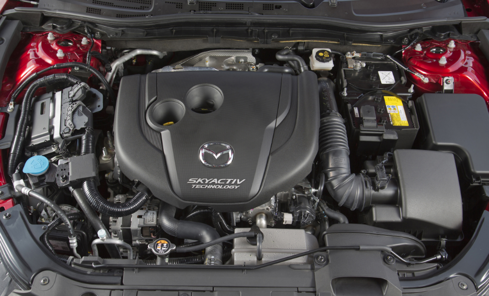 2020 Mazda 3 Touring Skyactive Engine