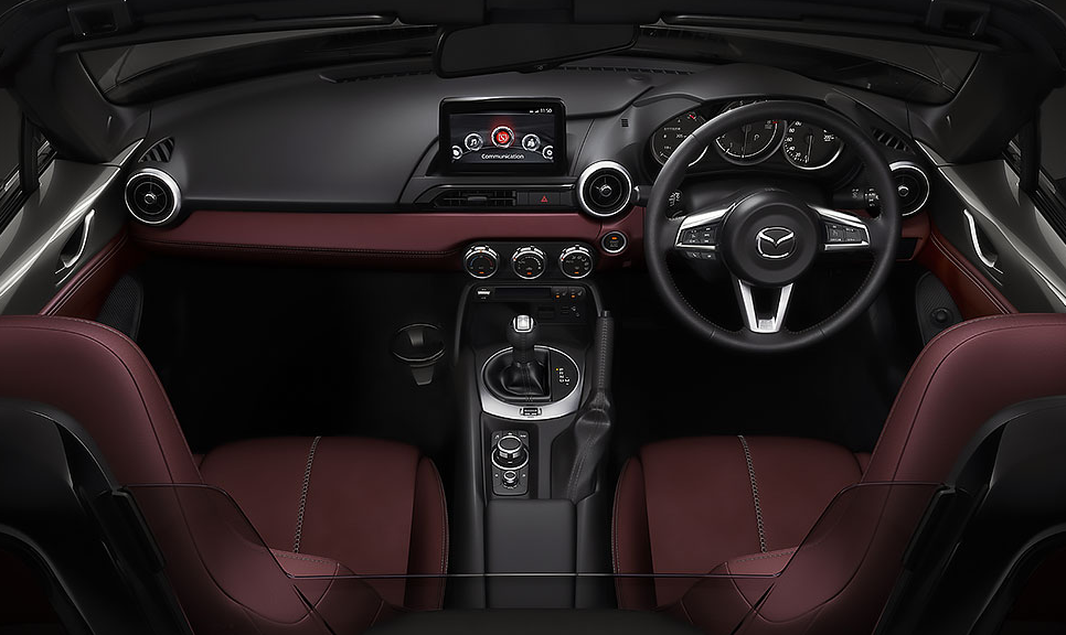 2020 Mazda MX-5 Miata RF Club 0-60 Interior
