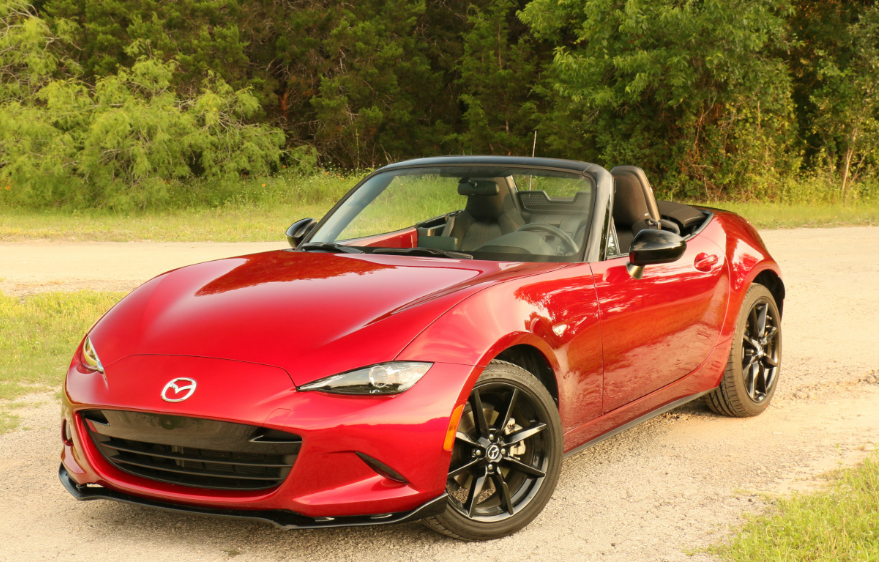2021 Mazda MX-5 Miata RF Club 0-60 Redesign