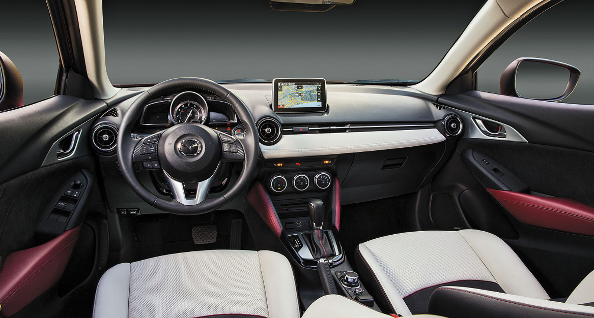 New MAZDA CX-3 2020 Interior