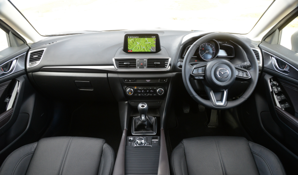 New MAZDA 3 Hatchback 2021 Interior