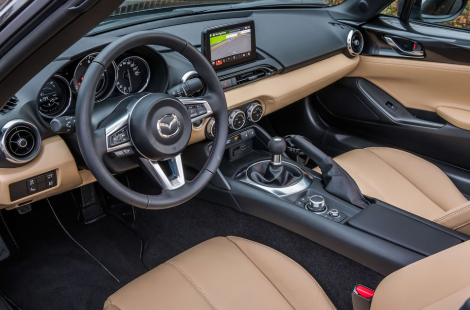 New Mazda MX-5 Miata Sport 2021 Interior