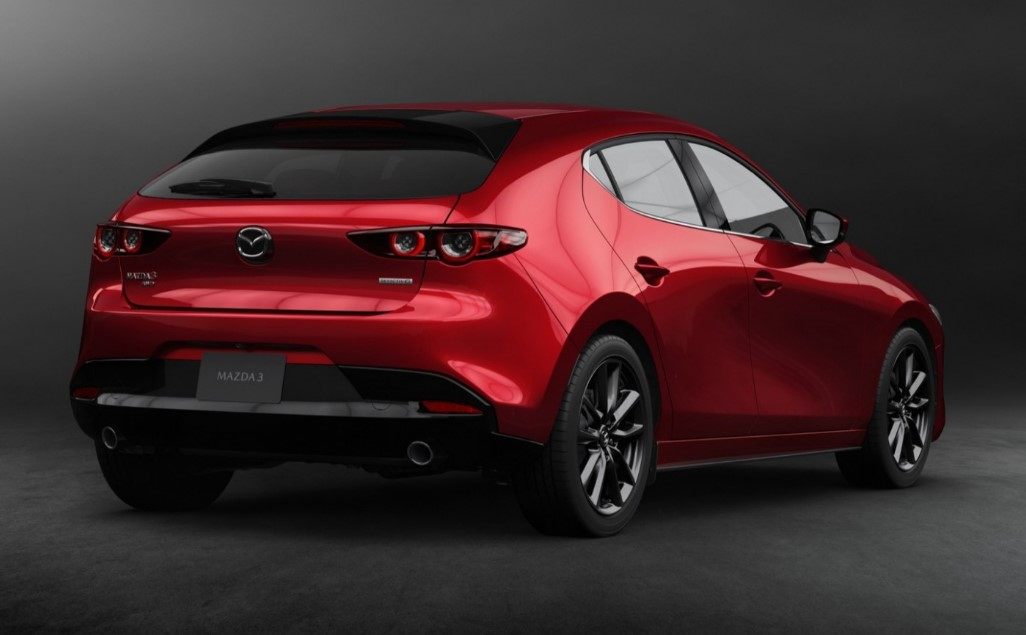 2021 mazda 3 Exterior and Rear View