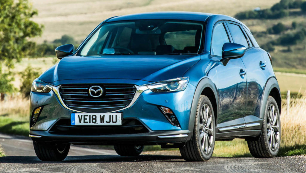 2019 Euro Spec Mazda CX 3 Debuts New Diesel Engine And Sport