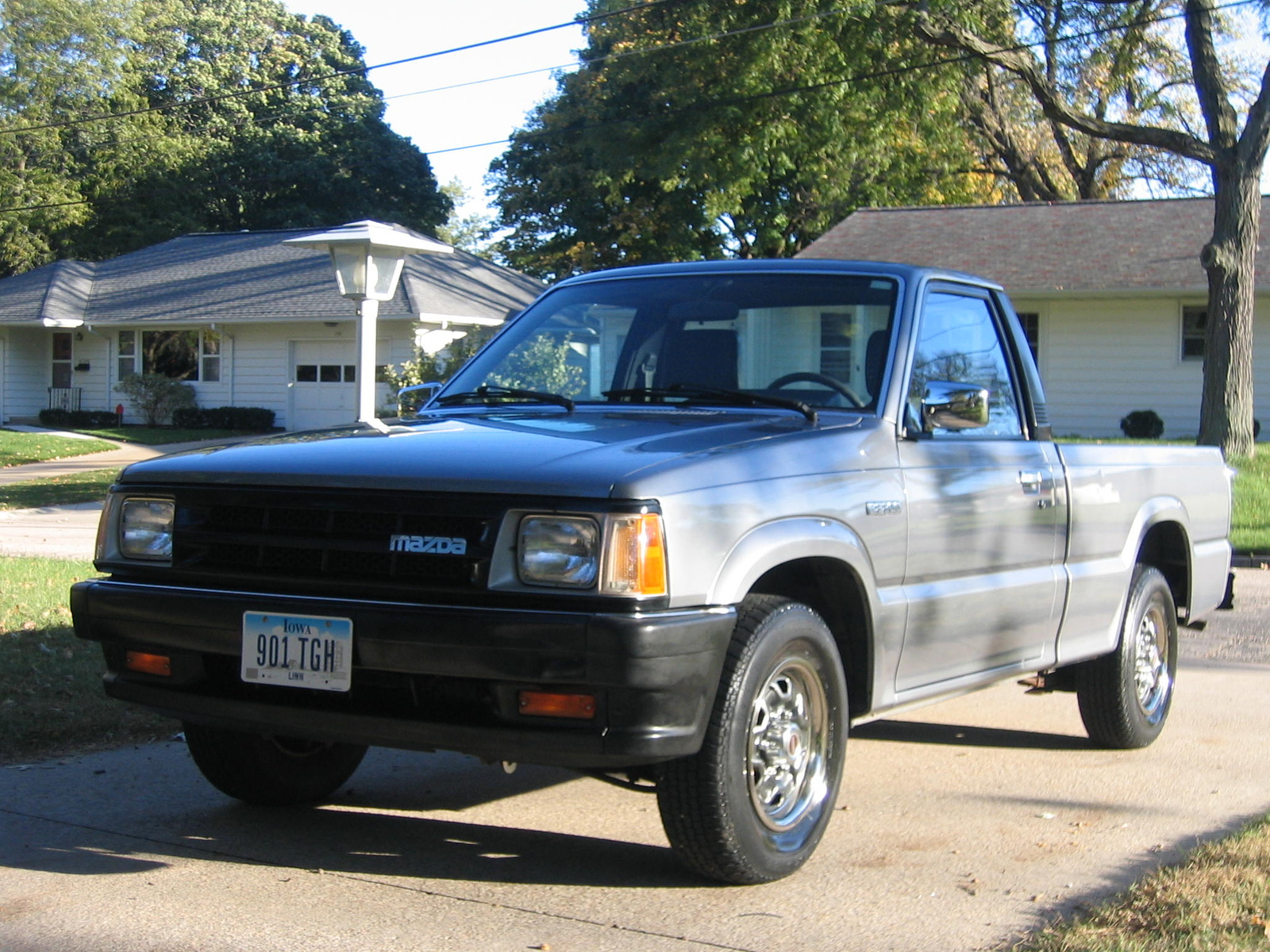 1992 Mazda B Series Pickup Information And Photos Neo Dr