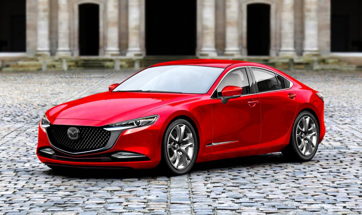 Next gen 2020 Mazda 6 Rendered And It Looks Ace ForceGT